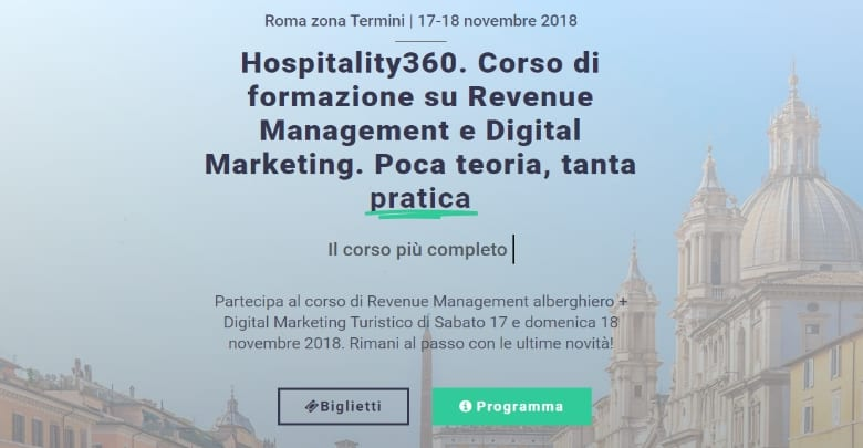 corso revenue management roma