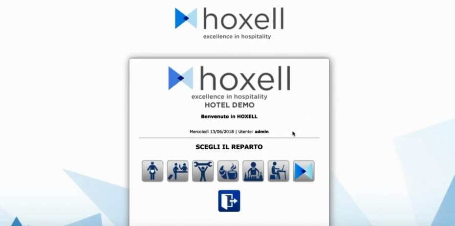 gestionale hotel hoxell
